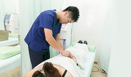鍼灸施術画像
